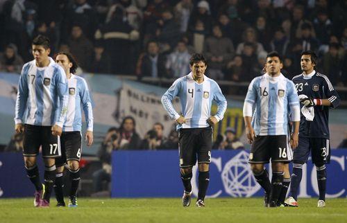 Argentina dejected