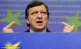 Barroso w half flag