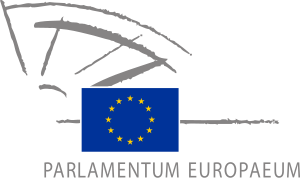 The official emblem of the European Parliament.