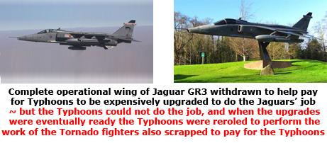 Jaguar scrapped
