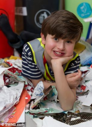 The schoolboy is obsessed with rubbish and even tells parents off if they don't recycle properly
