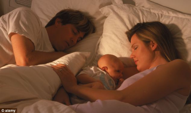 It is believed that 120 babies could be saved in the UK each year if parents didn't share a bed with their baby