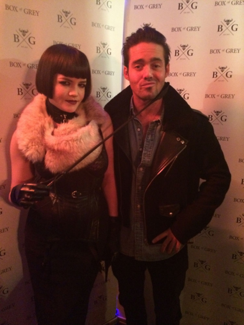 Tessa Kuragi and Spencer Matthews