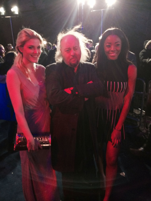 Ashley, Bill Bailey and AJ Odudu