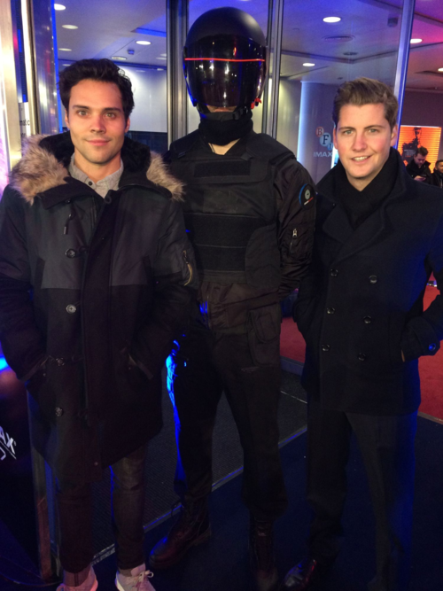 Andy, Robocop and Stevie