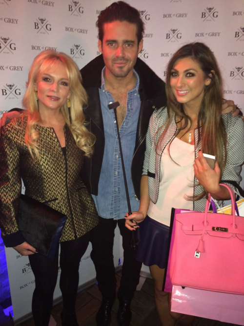 Stacey Jackson, Spencer Matthews and Luisa Zissman