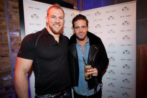 James Haskell and Spencer Matthews