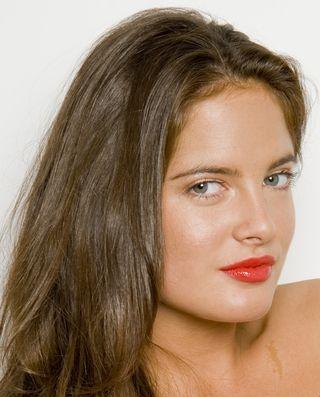 Binky Red Lip gloss cropped