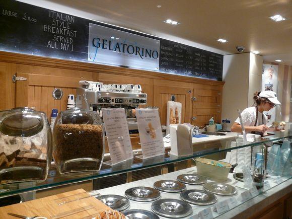 Beautiful Italian gelato in London