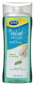 Scholl foot Soak