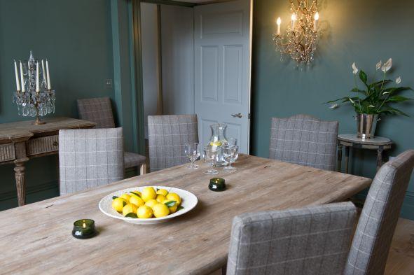 Teasel England Dining Room
