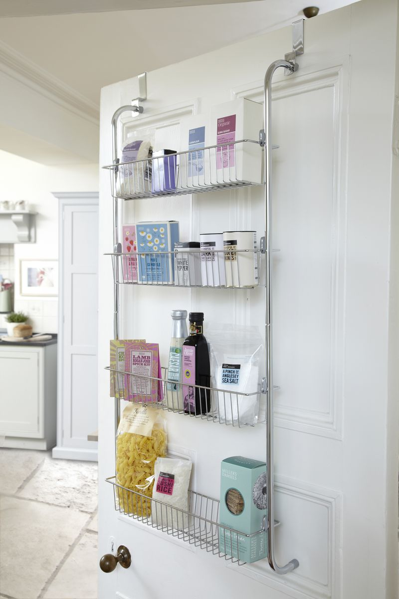 Lakeland 4-Tier Over The Door Storage Rack, Ref 23098, £24.99