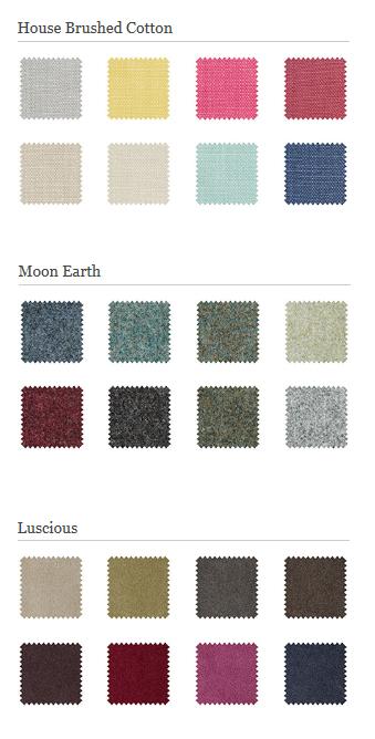 Petit reader Colour swatches chart