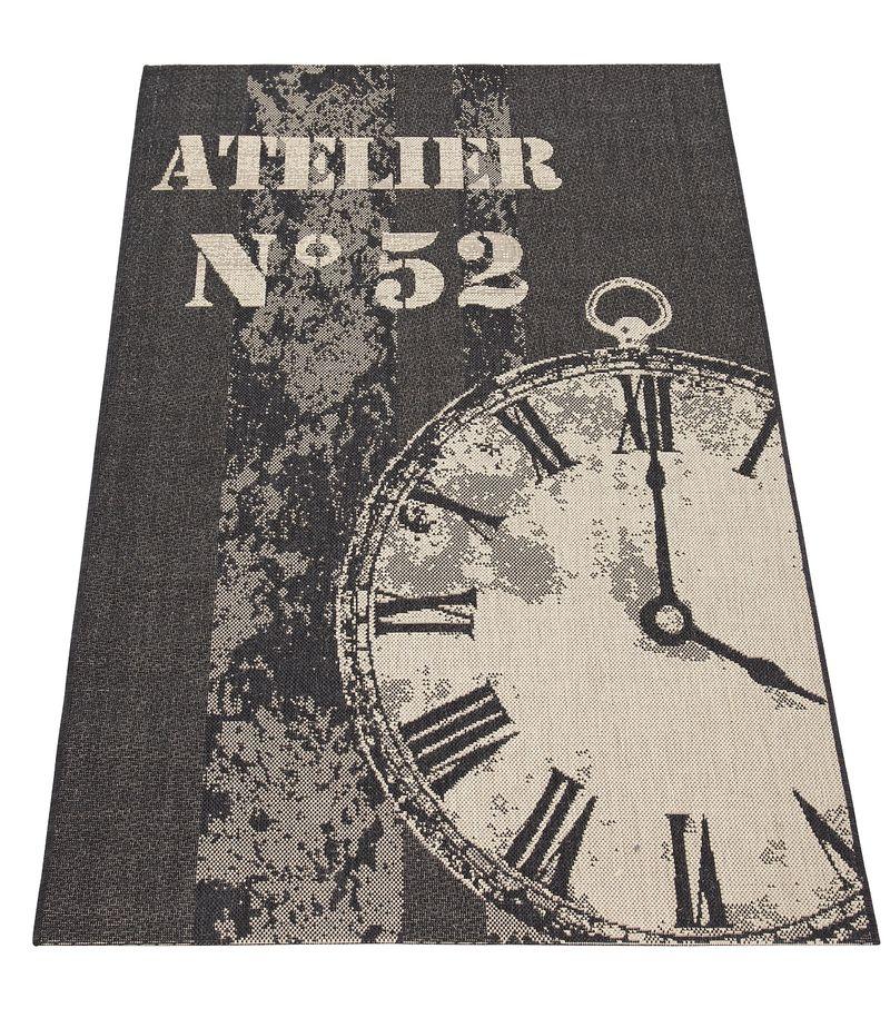 Very Clock_flatweave_rug