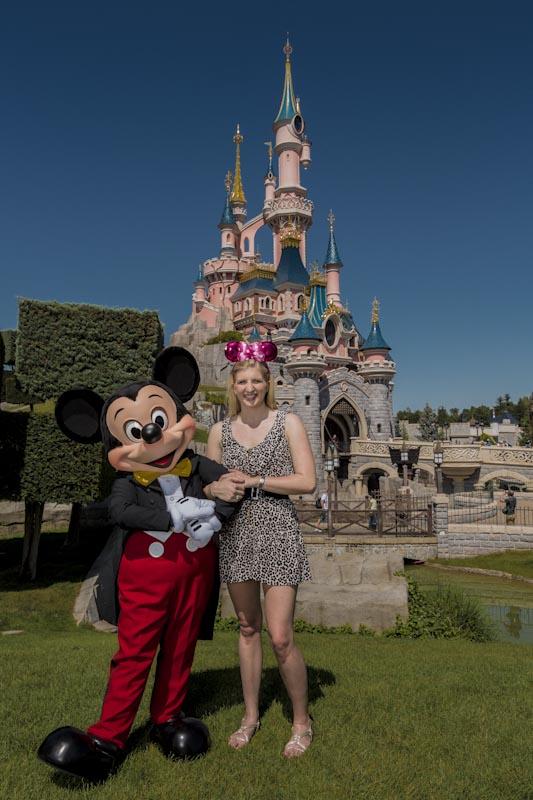 Rebecca Adlington - Disneyland Paris  (1)