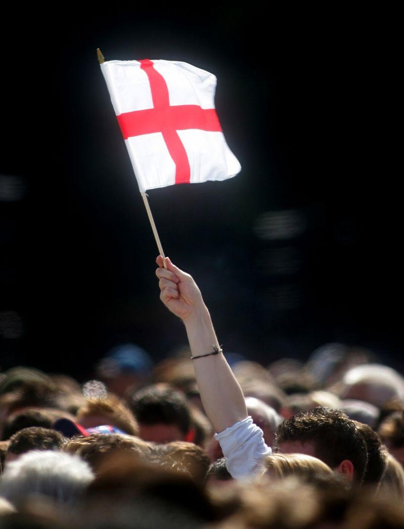 EnglandfanCORBIS