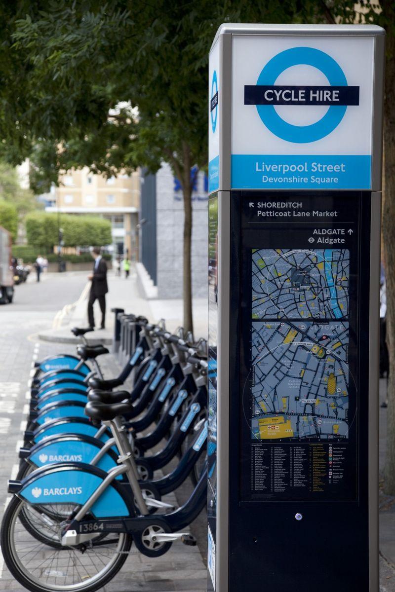 LondoncyclingCORBIS