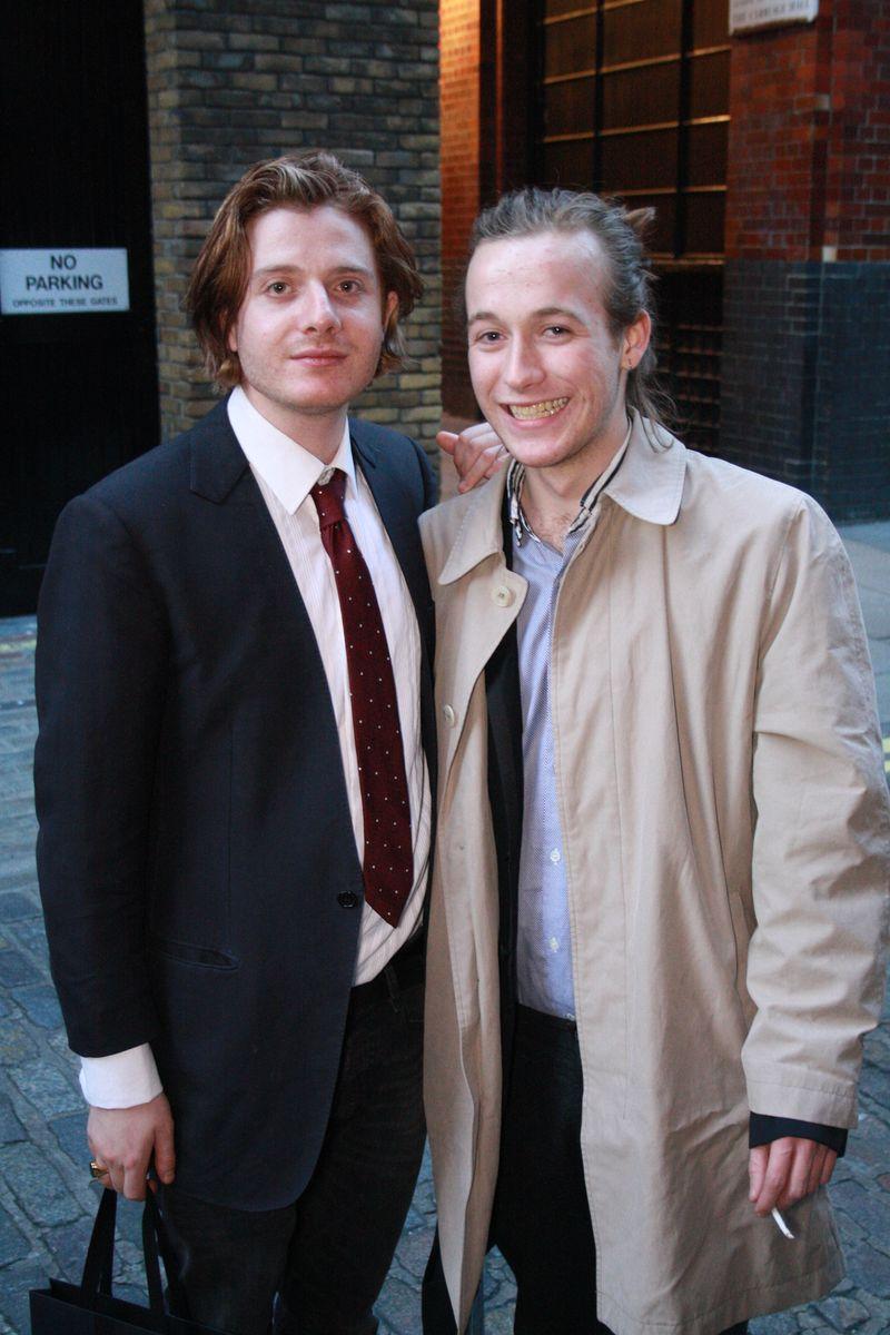Dominic Jones & friend