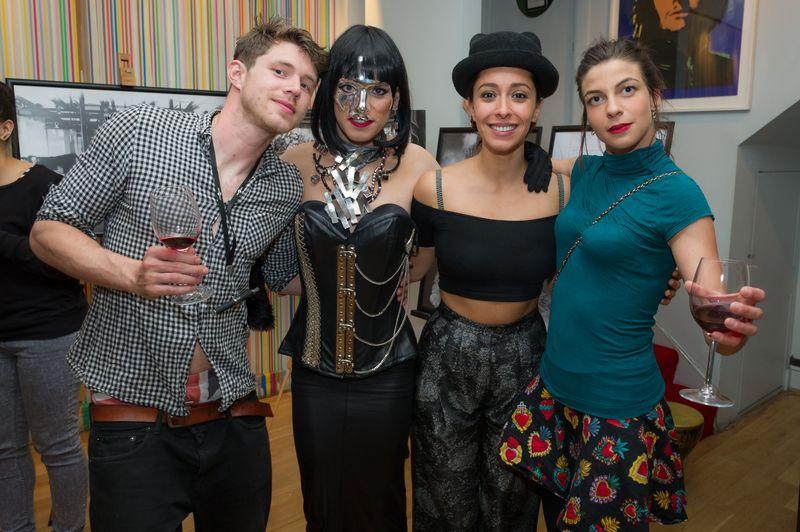 XXXora, Natalia Tena, Oona Chaplin, Sam Apley