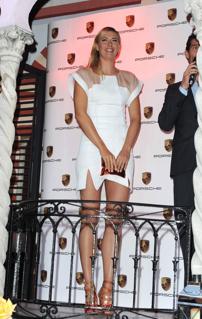 Maria Sharapova at The WTA Pre-Wimbledon Party presented by Dubai Duty Free. Guests enjoyed Ciroc Vodka