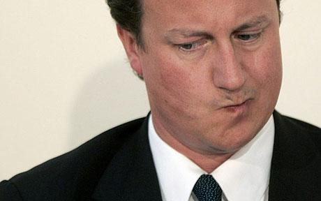 David Cameron - puzzled