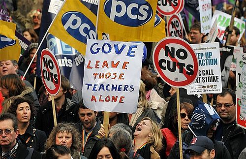 Gove protests