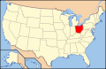 Ohio locator map wiki