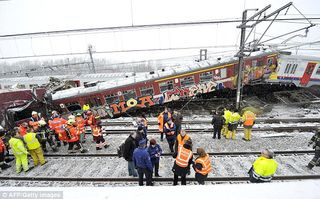 Belgian traincrash