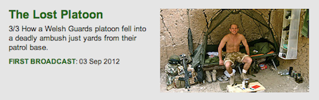 Lt Mark Evison, WG, kia, RIP