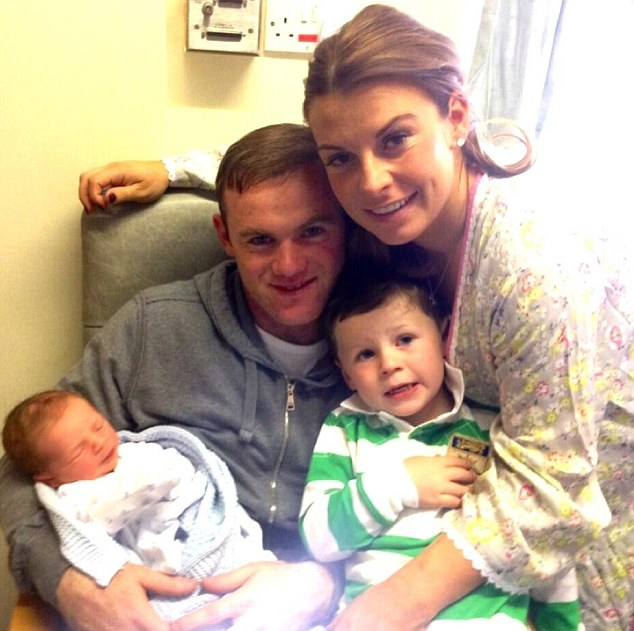 With the arrival of baby Klay for Coleen and Wayne Rooney, and brother Kai it looks like a trend that's set to stay
