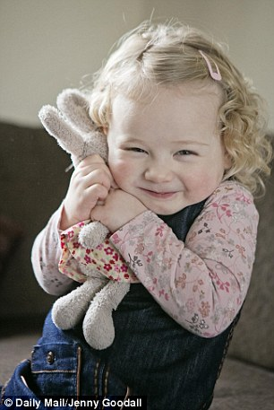 Never let me go: Daisy is reunited with Bunny