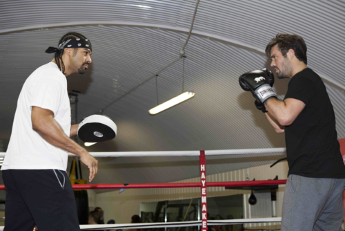 Spencer and David Haye Mean Stare low res