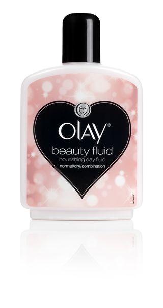 Olay Beauty Fluid Heart design