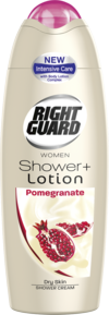 Right Guard Shower Plus Lotion