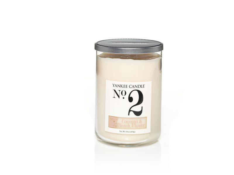 No 2. Coconut & Beach Flower - YC Large 2-Wick Tumbler