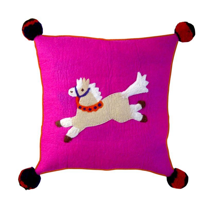 Sh Pippa the Pony Cushion from Sew Heart Felt