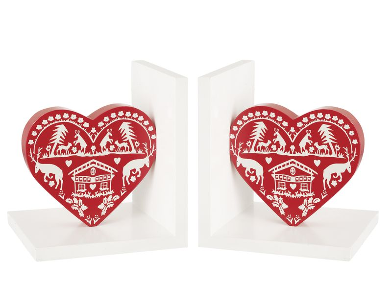 Debenhams_heart bookends_£18