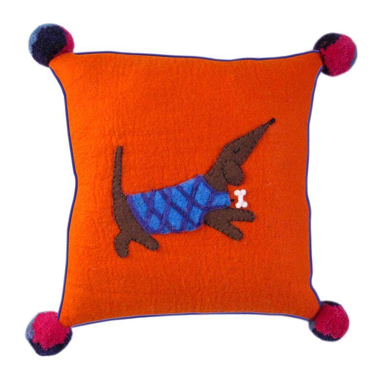 Sh Dennis the Dashchund Cushion from Sew Heart Felt