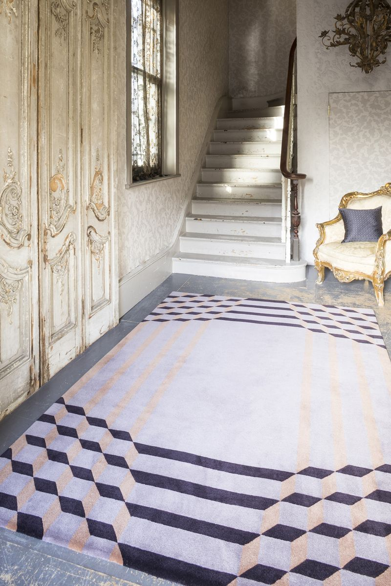 Top Floor - Jazz Age collection - Crawford rug - lifestyle - Portrait (2)