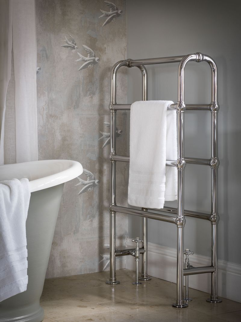 Arched Heated Towel Rail 2