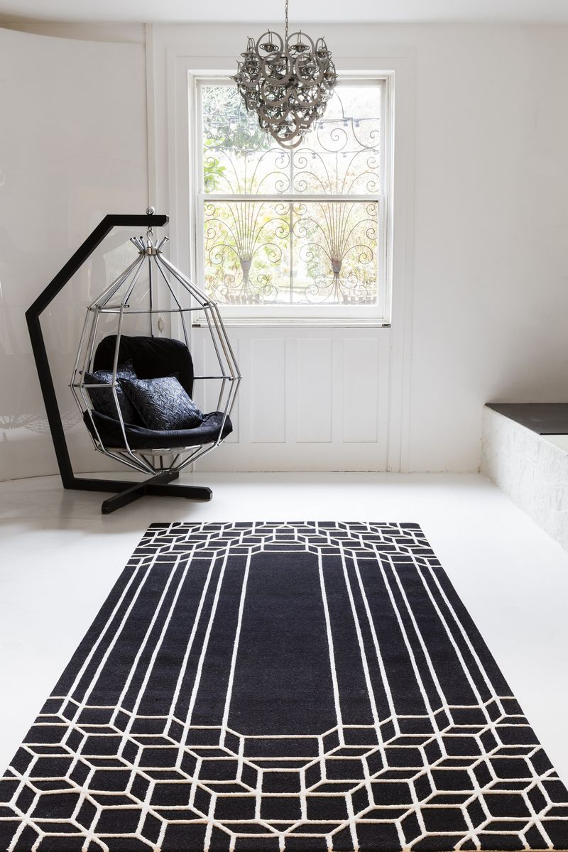 Top Floor - Jazz Age collection - Garbo rug - lifestyle - Portrait (2)