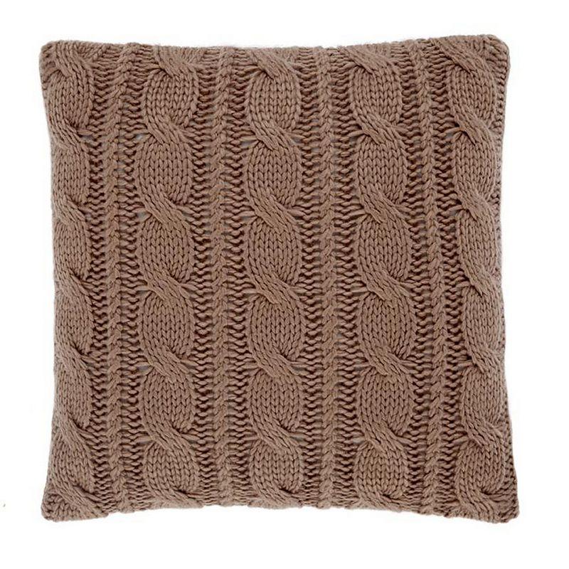Asda pebble knit cushion
