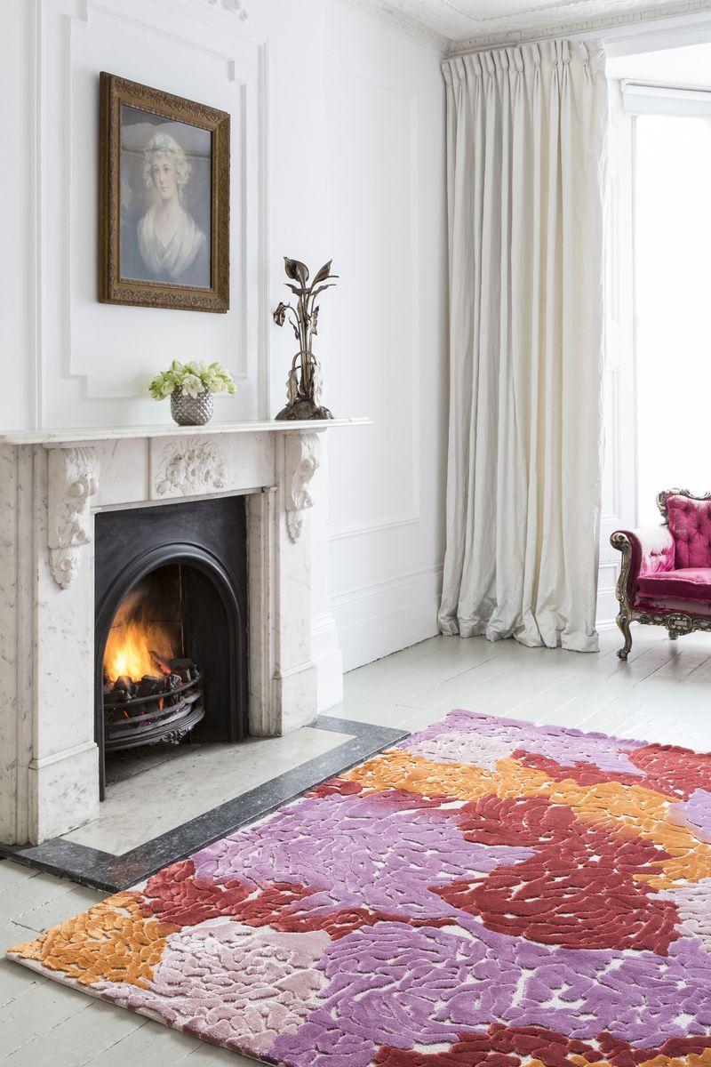 Top Floor - Jazz Age collection - Gloria rug - lifestyle - Portrait (2)