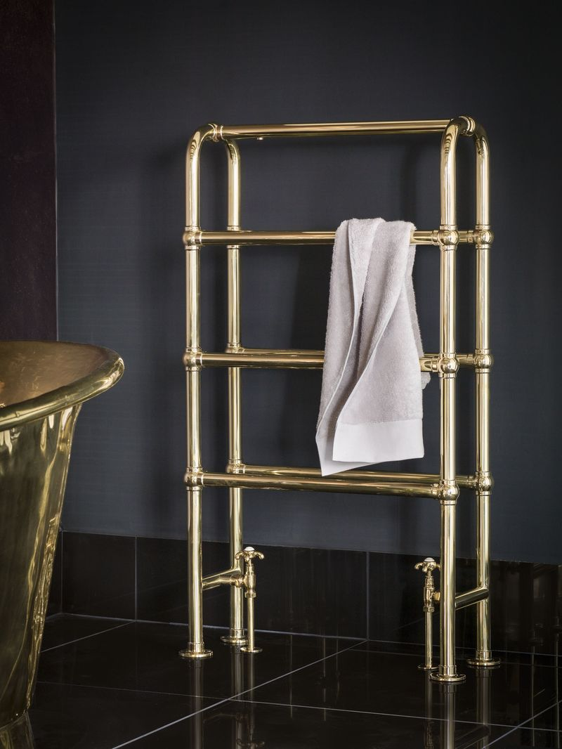 Arched Heated Towel Rail 3