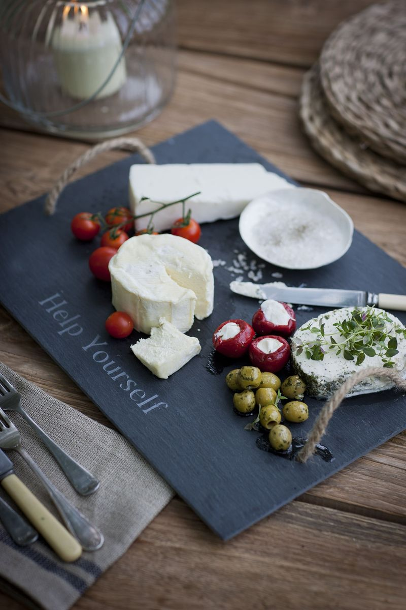 Garden Trading Cheeseboard with handles, slate £15 mailable