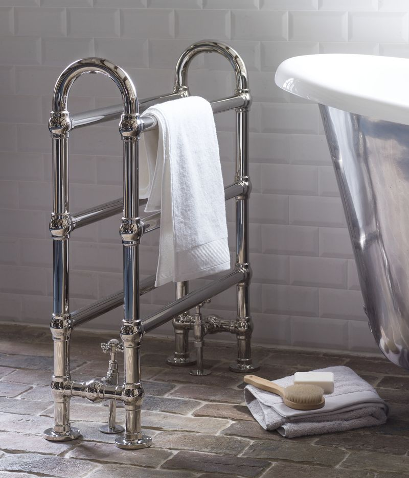 Arched Heated Towel Rail 4