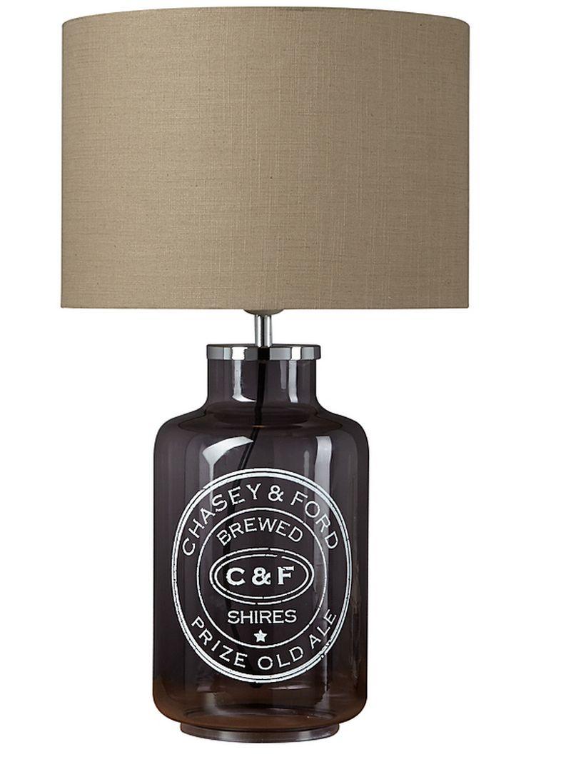 GeorgeBottle table lamp £30.00