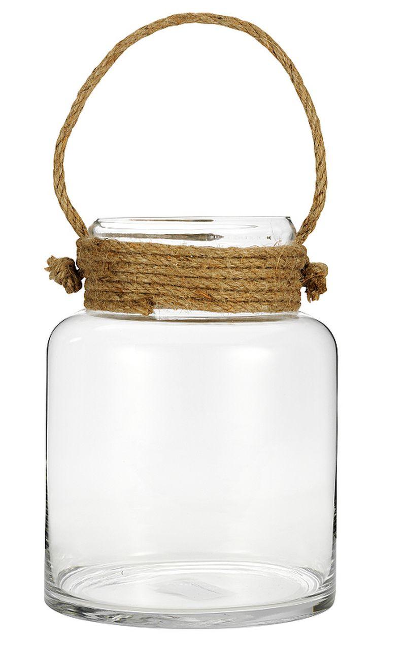 Asda rope and glass hurricane vase - £12,00
