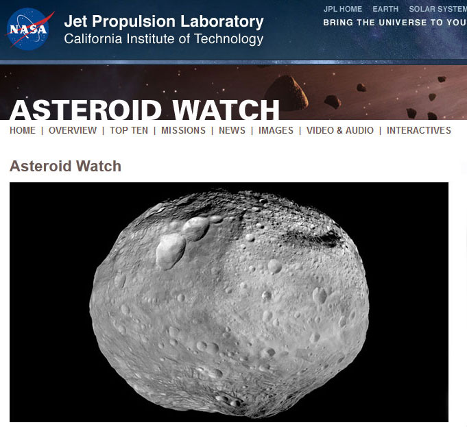 Asteroid-watch
