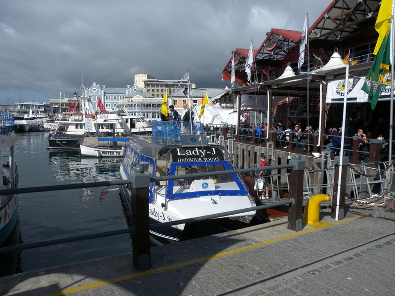 Harbour front at Cape Town